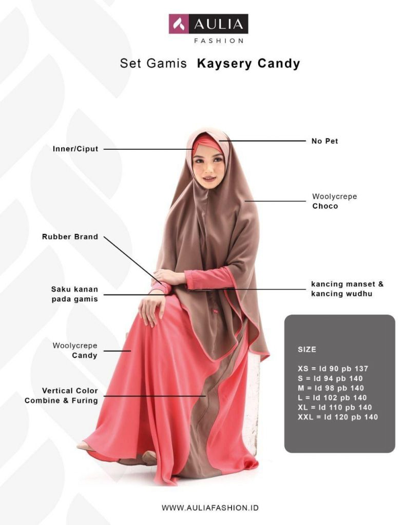 Gamis Set Hijab Non Pet