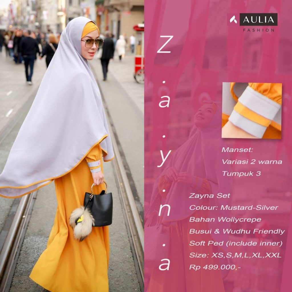 Gamis AULIA FASHION - ZAYNA Set