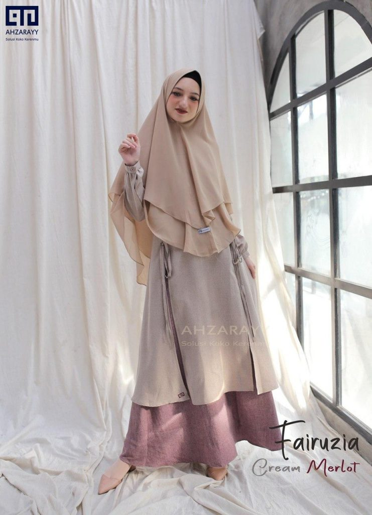 Gamis Set FAIRUZIA by VALDYA