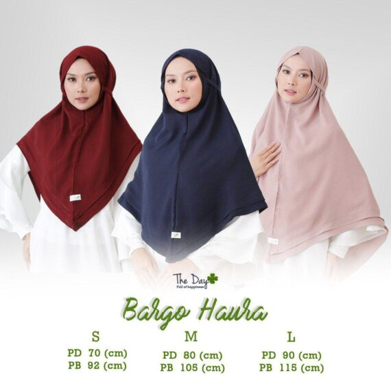 Koleksi Model Jilbab Bergo Modern by The Day